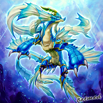[Commission] - Signer Dragon (Water Themed) by BatMed