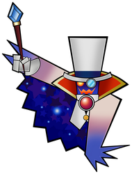 Count Bleck (Classic)- Super Paper Mario 10th by Fawfulthegreat64