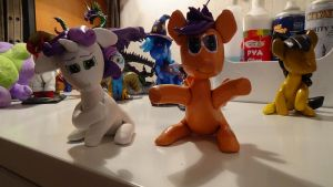 Sweetie Belle and Scootaloo by McMesser