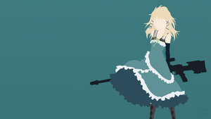 Tina Sprout (Black Bullet) by Klikster