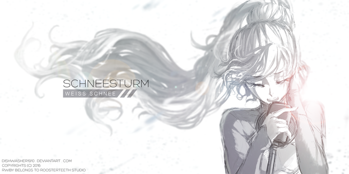 RWBY Doodle : Music album cover by dishwasher1910