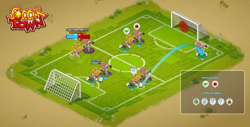 Soccer Town: Challenge Mockup by space-ghost
