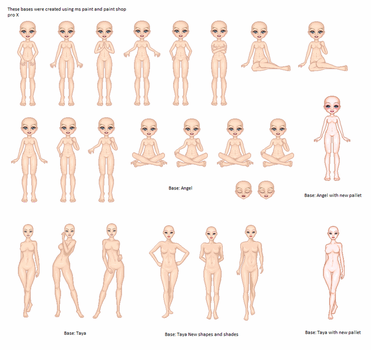 Full Body Base Collection by Linkin-D