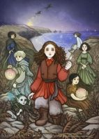 Morgan Le Fay: Children of This World by JanainaArt