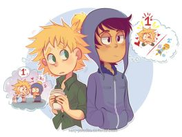 SP: Space vs Tweek by Neny-Paradise