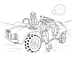 Tanya's Rover Promo Image (inks) by the-gneech