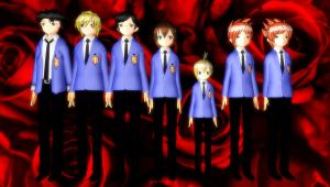 MMD- Editted Ouran Models W DL by luckygirl88
