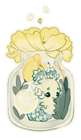 Custom Terrarium YCH Auction (closed!) by Iloveakitten