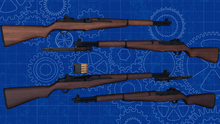 [MMD] M1 Garand for DL by AbyssLeo