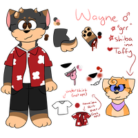 .: wayne ref sheet :. 2018-19(?) by Angelic-Shrimps