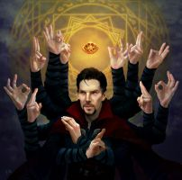 Dr Strange by Maddsaa