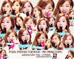 PACK PNG KIM TAEYEON - CHANRI REQUEST by jungmikaddh