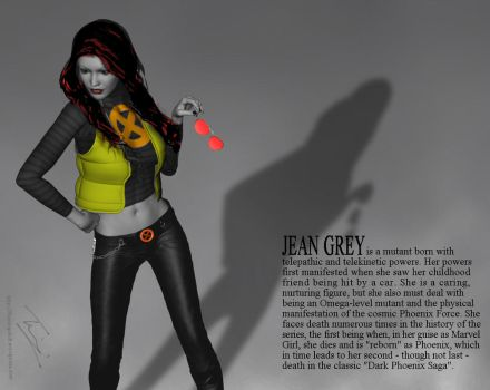 Jean Grey - Top Model by theflamingskull
