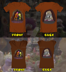 Threadless Fraggle Rock tee contest-03B by Gonzocartooncompany