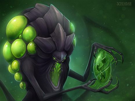 Abathur, the Evolution Master by Krrrokozjabrra