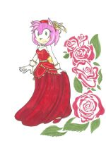 Bell of the Ball_Amy Rose by TheShadAmyArtistO10