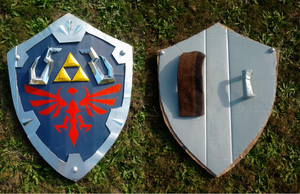 Hylian Shield: Skyward Sword cosplay by Alyboxie