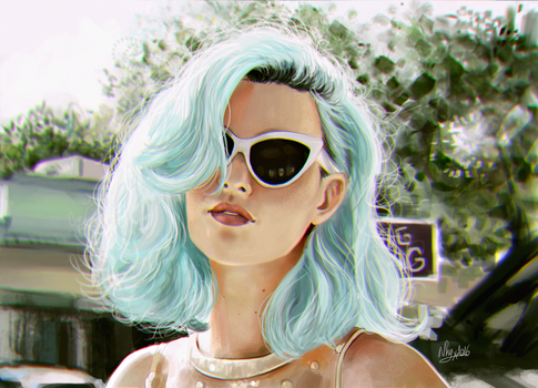 Blue by iNhyx