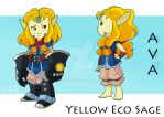 [JnD] Yellow Eco Sage Concept (Ava) by Sigerreip