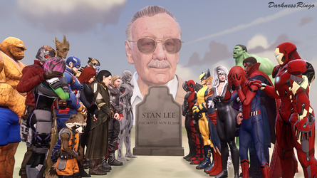 Rest in Peace, Stan Lee. by DarknessRingoGallery