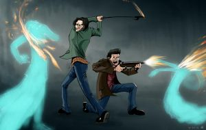 31 DOH: Those Wacky Winchesters by croonstreet