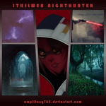 Aesthetic Comm: Ithilwen Nighthunter by amplifang765