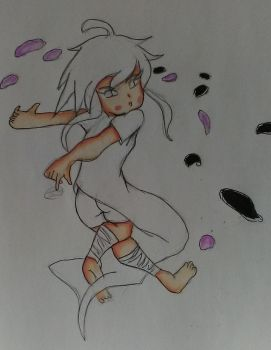 DANCING ROSE PEDALS W.I.P by tifa005111