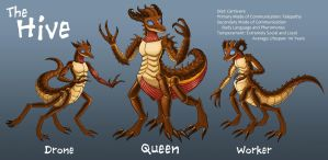 The Hive Species Reference Sheet by Sriseru