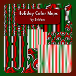 Holiday Texture Pack for fractal and 3D software by Trenton-Shuck