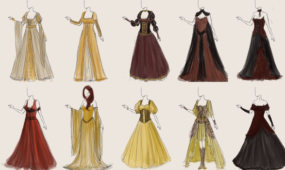 Some Dresses by Wilwari