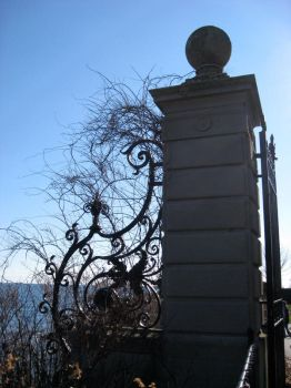 Gate by the Sea by hever-stock