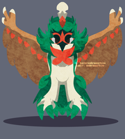 rowlet evolution by DasterCreations