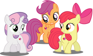 The Cutie Marked Crusaders by SpellboundCanvas