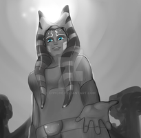 Ahsoka Tano. Sunlight. by Chyche