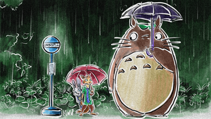 Zootopia - My Neighbor Totoro by Weischede