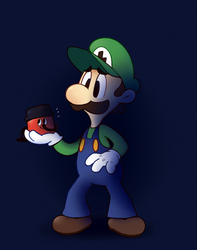 Luigi's Hoover (SGDQ) by HappyCrumble