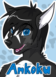 AkuTen Badge by Drairan