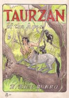 Taurzan of the Apes by LuciusAppaloosius