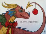 The Christmas Dragon by owlburrow