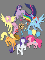 Circle of Friendship (T-Shirt Design) by jewlecho