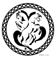 Celtic Horse by RHPotter