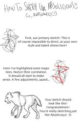 How To Sketch Like Me by Absolicious