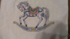 Rocking Horse Cross Stitch 2 by Sippen