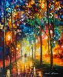 STORY OF THE PARK by Leonid Afremov