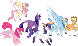 [24] Pony Parade by Serene-Monster