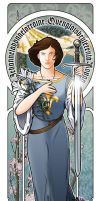 Jehanne. Joan of Arc by CjBear