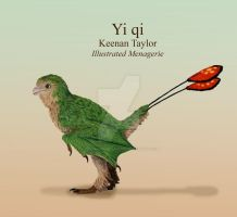 Yi qi (green color morph) by IllustratedMenagerie