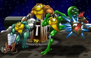 Battletoads Arcade by Mystic-Forces