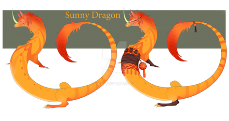 Sunny Dragon adopt auction (CLOSED) by Liowa