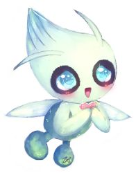 Celebi's heartscale -Colouring Test- by Zuyu